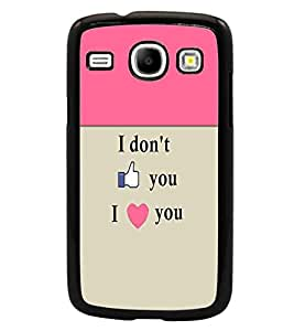PrintDhaba Quote D-3196 Back Case Cover for SAMSUNG GALAXY CORE i8262 (Multi-Coloured)