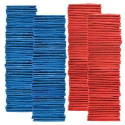 Youth Scrimmage Vest 100 Pack Blue Red (PAC) by SSG