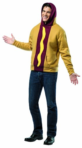Rasta Imposta Plus-Size Hot Dog Hoodie