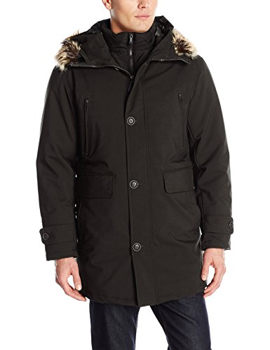 london-fog-mens-dodson-snorkel-with-inner-bib-and-attached-hood-black-x-large