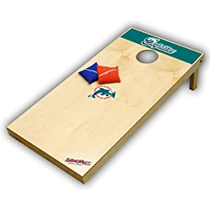 Miami Dolphins Cornhole: Xl Tailgate Toss by Wild Sports