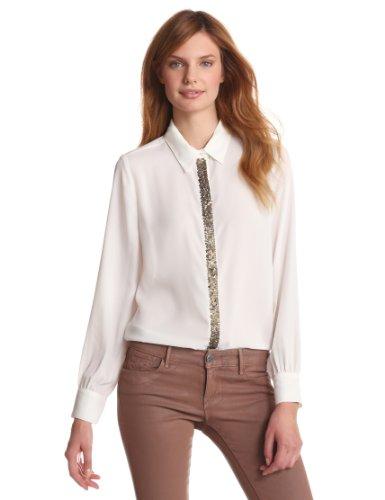 Greylin Women's London Sequin Button Down Shirt