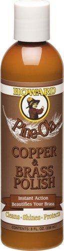 Howard CB0008 Pine-Ola Copper and Brass Polish, 8-Ounces