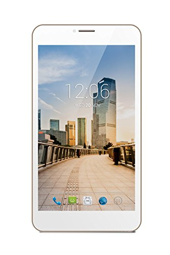 """Grand Mobile Equal S700 GSM Unlocked 4G HSPDA+, 4GB, 7.0"""" LCD, Android Tablet, Dual Sim (White)"""