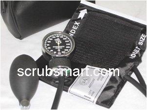 Image of Scrubsmart Aneroid Sphygmomanometer Blood Pressure Cuff Adult (B00A88M8XG)
