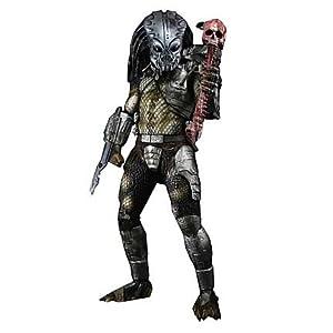 NECA Reel Toys Predator 2 Movie 1/4 Scale Action Figure Guardian Gort Predator with Helmet