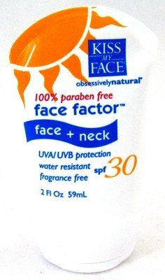 Kiss My Face Face Factor SPF #30 100% Paraben Free 60 ml (Case of 6)