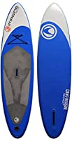 Imagine Surf COMPRESSOR/RECRUIT Inflatable Stand Up Paddleboard, 10.6-Feet x 32 x 6-Inch, Blue by Pryde Group Americas
