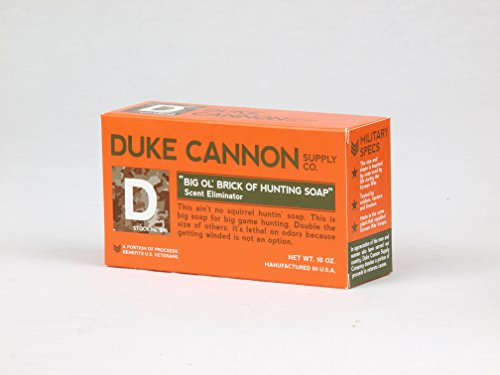 Discover Bargain Duke Cannon Big 'Ol Brick of Hunting Soap - Scent Eliminator, 10oz