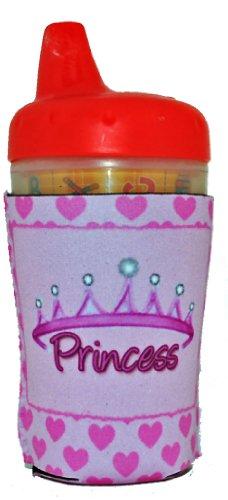 Kidzies Huggerz, Child'S Drink Sippy Cup Bottle Insulator, Princess Design front-354679