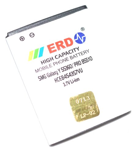 ERD Samsung compatible Battery SMG Galaxy Y S5360   HCEB454357VU available at Amazon for Rs.327