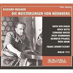 Wagner: Die Meistersinger Von [UK-Import]