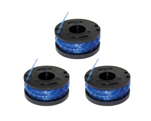 Sun Joe Trj601R3 3-Pack Of Replacement Trimmer Line Spools For Sun Joe Trj600C Cordless Trimmer