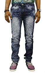 Jugend Blue faded stretchable Skinny Fit jeans for men