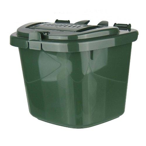 All-Green Bac de recyclage de compost aéré pour cuisine Vert 5 l