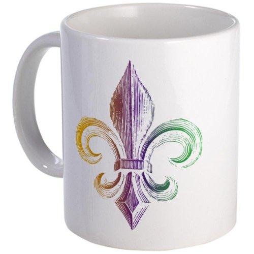 Mardi Gras Fleur De Lis Mug Mug By Cafepress