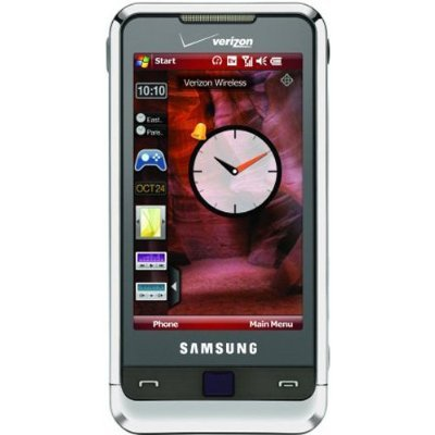 Samsung Omnia i910 Phone, Silver (Verizon Wireless) Touchscreen Cell Phone - No Contract