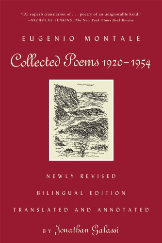 Collected Poems, 1920-1954: Newly Revised Bilingual Edition, Eugenio Montale
