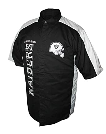 NFL Mens Oakland Raiders Run And Shoot Camp Shirt by MTC Marketing, Inc