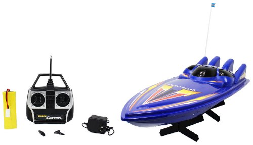 Large High Speed 618 King Cruiser Electric RTR RC Boat Big Remote Control Quality RC Boat Powerful Dual Propellers Perfect for Lakes, Ponds, Rivers, and Pools