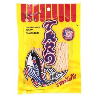 Taro Spicy Flavoured Fish Snack 1.12 Oz (Pack Of 3)