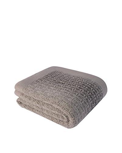Bottega Tessile Sofadecke grau/sand 130 x 170 cm
