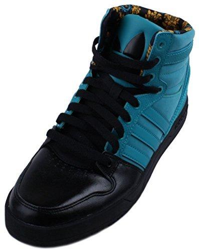 Adidas Corte Attitude Mens Nero / Multi pallacanestro scarpe da tennis