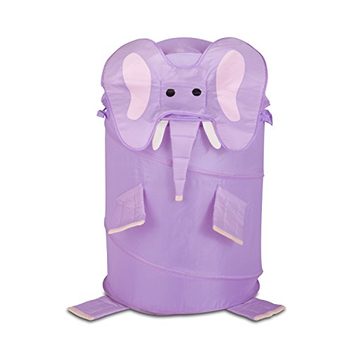 Honey-Can-Do-HMP-02056-Kids-Pop-Up-Hamper-Lion-Medium