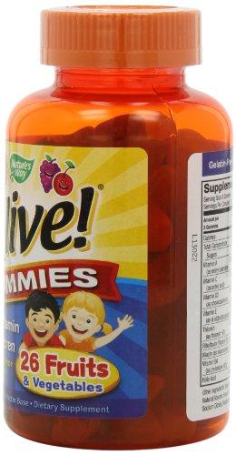 Nature's Way - Alive! Children's Multi-Vitamin Gummies - 90 Chew