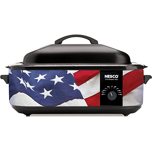 Nesco Designer Series 18 Quart Patriotic Cookwell Roaster Oven (Roaster Oven Parts compare prices)