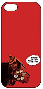 Gorillaz, Trip Hop Kids With Guns, 6063 iPhone 5 Protective Hard Plastic Case Cover Music And Rock Band
