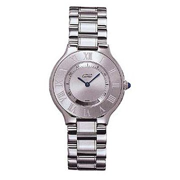 Cartier Midsize W10110T2 Must 21 Stainless Steel Watch