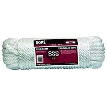 Rope King SBP-716100 Solid Braid Poly Rope 7/16 inch x 100 feet
