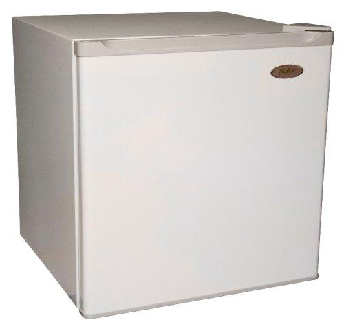 Haier HNSB02 1.7 Cu-Ft Refrigerator/Freezer, White (Haier Mini Fridge 2 7 compare prices)