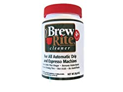 Brew Rite Coffee Maker Cleaner made by Brew Rite