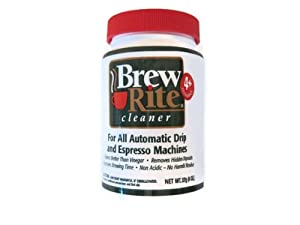 Brew Rite Coffee Maker Cleaner