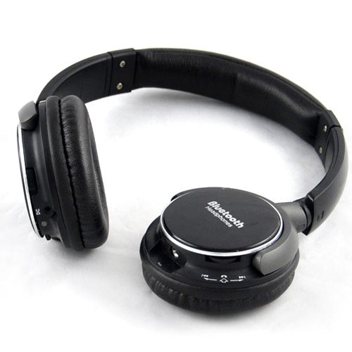 Generic Black Wireless Bluetooth A2Dp Stereo Headphone Headset Earphone For Iphone 4G 4S 5G Htc Samsung