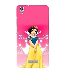 printtech Disney Bella Girl Princess Back Case Cover for Lava Pixel V1