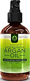 InstaNatural Organic Argan Oil – For…