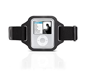 Griffin Streamline Armband for iPod nano 3G (Black)