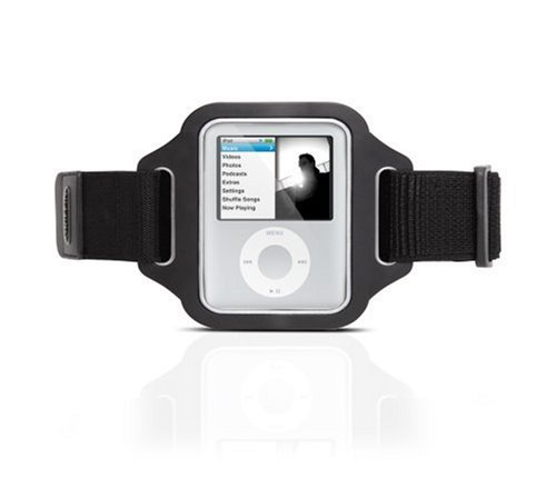 Griffin Streamline Armband for iPod nano 3G (Black) чехол для ipod nano 3g
