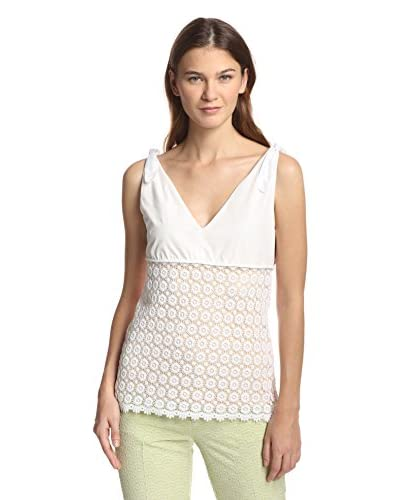 See by Chloé Women's Lace Combo Top