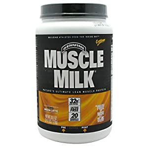 Muscle Milk - Muscle Milk Mocha Latte, 2.47 lb powder