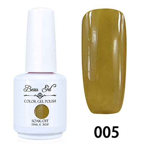 Beau Gel Vernis Gel Semi Permanent LED/UV Soak Off 15ml 005
