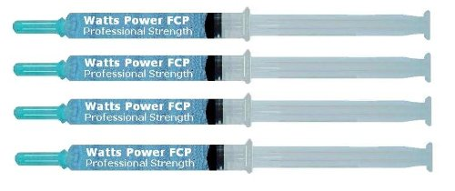Exclusive Watts Power FCP Formula - Anti-cavity, Teeth Sensitivity / Remineralizing Gels - 4 Pack