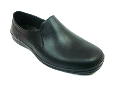 Amazon.com Black Unisex Non-Slip Work Clogs Slip On Scrub Shoes Slip Resistant U0026 Closed Heel Shoes