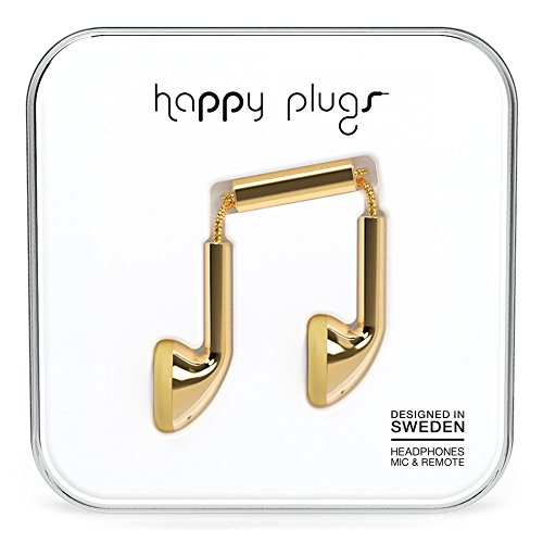 Happy Plugs 7727 Earbuds Gold (Happy Plugs Deluxe compare prices)