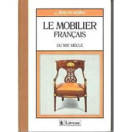 Le mobilier français du xixe siecle