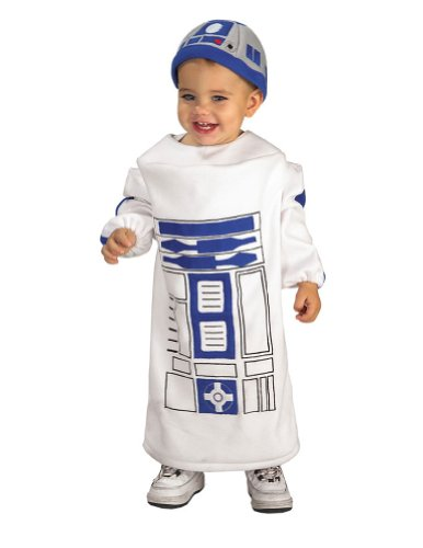 Rubies Co. Inc. - R2D2 Toddler Costume 12-24 Months Halloween Costumes - 12-24 months