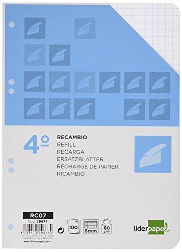 ricambio-liderpapel-quarto-100-fogli-60-g-m2-tabella-6-mm-con-margini-6-foratrici